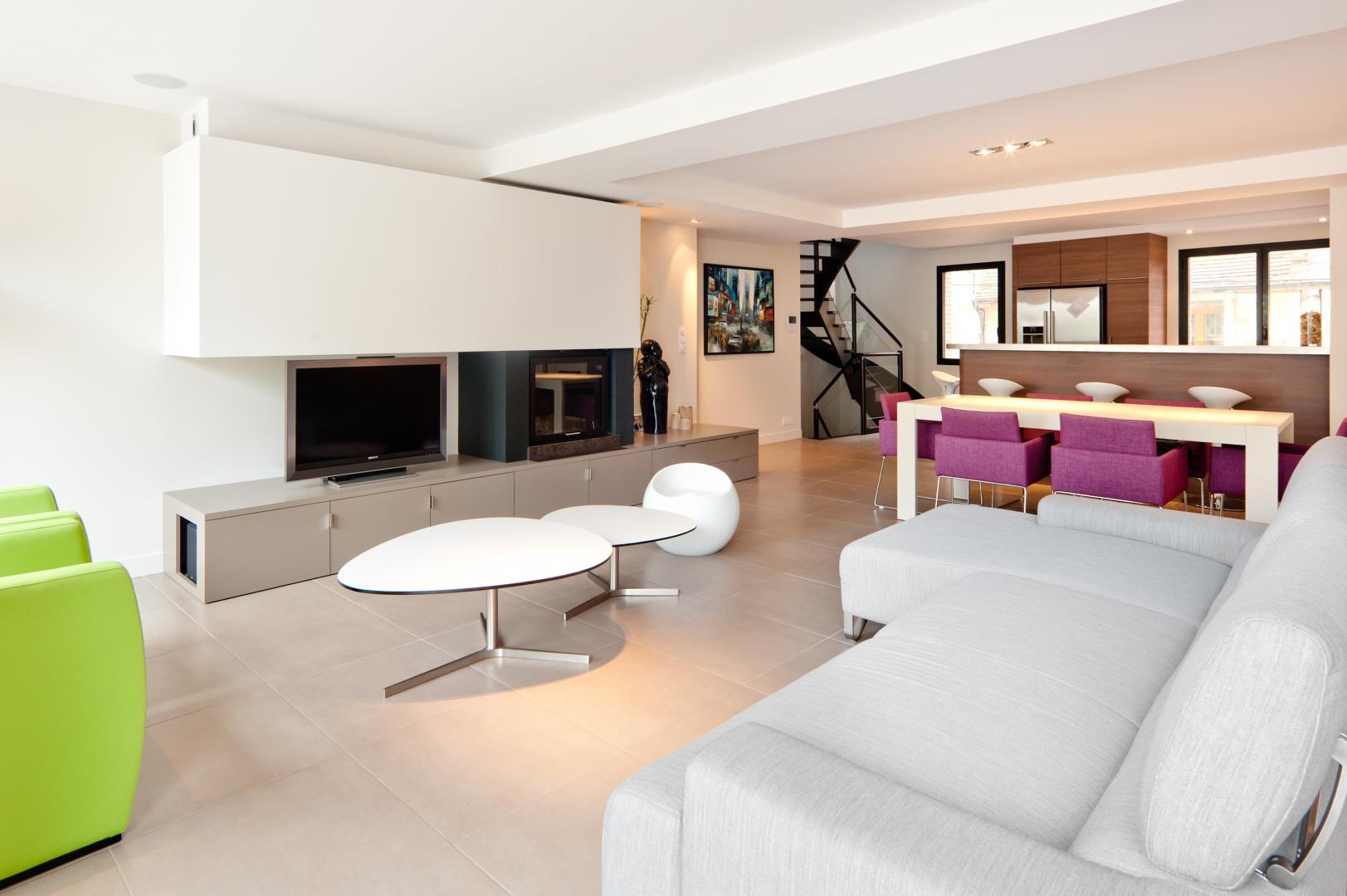 r novation d int rieur caen plan b. Black Bedroom Furniture Sets. Home Design Ideas